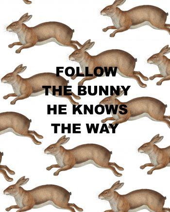 Kaart met funny quote om het leven niet te serieus te nemen