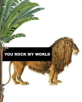 Duurzame kaart you rock my world