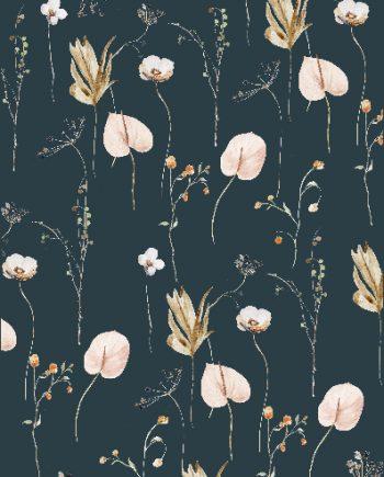 Duurzame kaart wildflowers