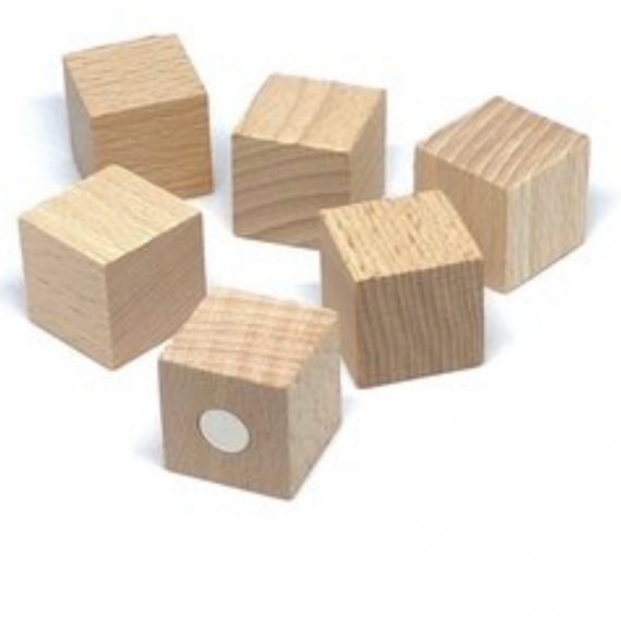 magneethouder hout