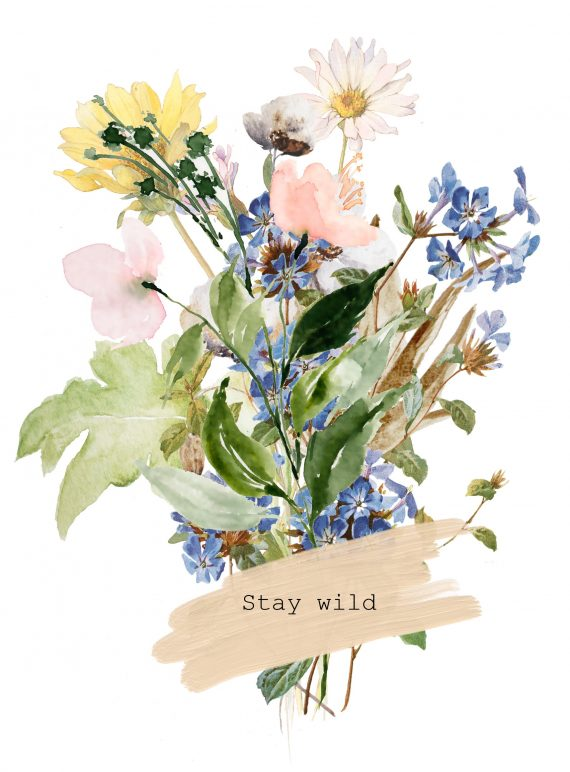 Duurzame kaart stay wild