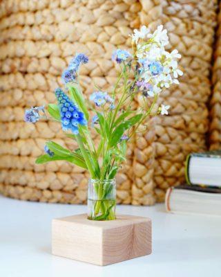 PLUKBLOEMEN 💛 Er staan wel honderden 'vergeet mij nietjes' in de tuin, zoooo mooi! I Love them! En omdat ik ze ook graag wil bewonderen in mijn werkruimte gebruik ik de houten houder met het mini flesje voor de bloemetjes uit de tuin! Super handig! Wist je dat de houten houders hier in Nederland worden gemaakt? #dutchdesign 🙌 natuurlijk! Wil jij jouw plukbloemen ook een mooi plekje geven? De houders met het mini flesje kan je vanaf vandaag ook los (zonder droogbloemen) in onze shop vinden. . . . . . . #mookstories #duurzamewebshop #plukbloemen #veldbloemen #interieurstyling #wooninspiratie #hout #wildebloemen #ecoshop #duurzaamshoppen #lente #liefleven #mamablog #lieverdanlief #interior #hygge #binnenkijken #tuininspiratie #tuinieren #buitenleven #outsideisfree #woongeluk #bloemenmeisje #bloemen #colorfulliving #kleurrijkwonen #reddebij #plantaddict #wildebloemen #natuureducatie